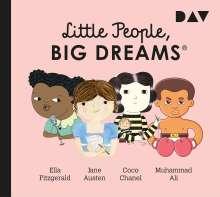 María Isabel Sánchez Vegara: Little People, Big Dreams - Teil 2: Ella Fitzgerald, Jane Austen, Coco Chanel, Muhammad Ali, CD