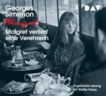 Maigret verliert eine Verehrerin, 4 CDs