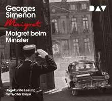 Maigret beim Minister, 4 CDs