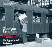 Maigret auf Reisen, 4 CDs