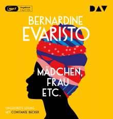 Bernardine Evaristo: Mädchen, Frau etc., 2 MP3-CDs