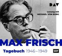 Max Frisch: Aus den Tagebüchern 1946-1949, 2 CDs