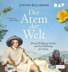 Stefan Bollmann: Der Atem der Welt. Johann Wolfgang Goethe und die Erfahrung der Natur, 2 Diverse