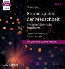 Stefan Zweig: Sternstunden der Menschheit. Vierzehn historische Miniaturen, MP3-CD