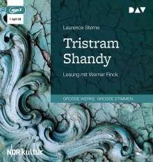 Laurence Sterne: Das Leben und die Meinungen des Tristram Shandy, MP3-CD