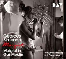 Georges Simenon: Maigret im Gai-Moulin, 4 CDs