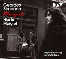 Georges Simenon: Hier irrt Maigret, 4 CDs