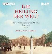 Ronald D. Gerste: Die Heilung der Welt. Das Goldene Zeitalter der Medizin 1840-1914, MP3-CD