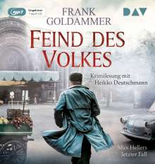 Feind des Volkes.Max Hellers letzter Fall, MP3-CD