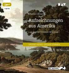 Charles Dickens: Aufzeichnungen aus Amerika, MP3-CD