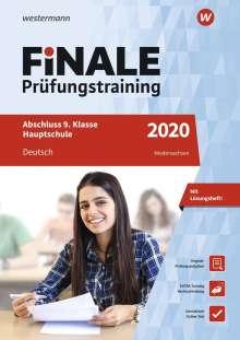 Walburga Böker: FiNALE Prüfungstraining 2020 Abschluss 9. Klasse Hauptschule Niedersachsen. Deutsch, Buch