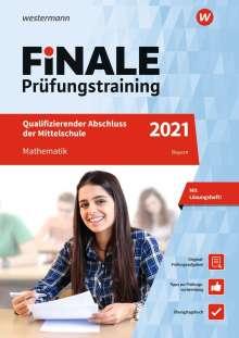 Bernhard Humpert: FiNALE Prüfungstraining 2021 Qualifizierender Abschluss Mittelschule Bayern. Mathematik, 1 Buch und 1 Diverse