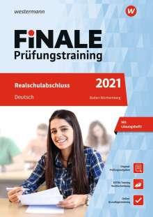 Julia Hauser: FiNALE Prüfungstraining 2021 Realschulabschluss Baden-Württemberg. Deutsch, 1 Buch und 1 Diverse