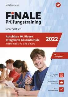 Julia Hartmann: FiNALE Prüfungstraining Abschluss Integrierte Gesamtschule Niedersachsen. Mathematik 2022, 1 Buch und 1 Diverse