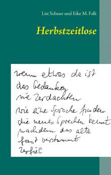 Lisi Schuur: Herbstzeitlose, Buch