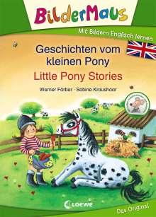 Werner Färber: Bildermaus - Mit Bildern Englisch lernen - Geschichten vom kleinen Pony - Little Pony Stories, Buch