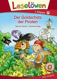 Sandra Grimm: Leselöwen 1. Klasse - Der Goldschatz der Piraten, Buch