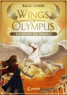 Kallie George: Wings of Olympus - Die Pferde des Himmels, Buch