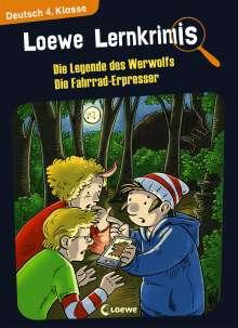 Annette Neubauer: Loewe Lernkrimis - Die Legende des Werwolfs / Die Fahrrad-Erpresser, Buch