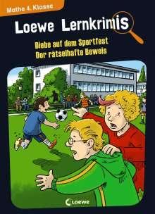 Annette Neubauer: Loewe Lernkrimis - Diebe auf dem Sportfest / Der rätselhafte Beweis, Buch