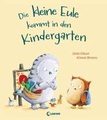 Debi Gliori: Die kleine Eule kommt in den Kindergarten, Buch