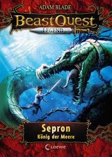 Adam Blade: Beast Quest Legend 2 - Sepron, König der Meere, Buch