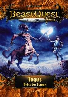 Adam Blade: Beast Quest Legend (Band 4) - Tagus, Prinz der Steppe, Buch