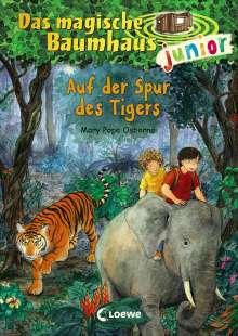 Mary Pope Osborne: Das magische Baumhaus junior 17 - Auf der Spur des Tigers, Buch