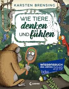 Karsten Brensing: Wie Tiere denken und fühlen, Buch