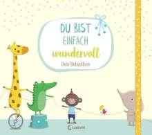 Katja Reider: Du bist einfach wundervoll - Dein Babyalbum, Buch