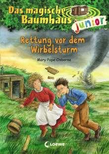 Mary Pope Osborne: Das magische Baumhaus junior 21 - Rettung vor dem Wirbelsturm, Buch