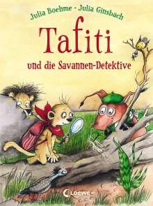 Julia Boehme: Tafiti und die Savannen-Detektive, Buch