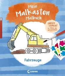 Mein Malkasten-Malbuch - Fahrzeuge, Buch