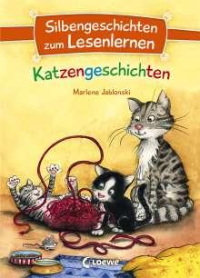 Marlene Jablonski: Silbengeschichten zum Lesenlernen - Katzengeschichten, Buch