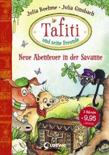 Julia Boehme: Tafiti und seine Freunde - Neue Abenteuer in der Savanne, Buch