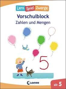 Die neuen LernSpielZwerge - Zahlen und Mengen, Buch