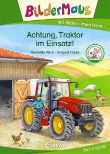 Henriette Wich: Bildermaus - Achtung, Traktor im Einsatz!, Buch