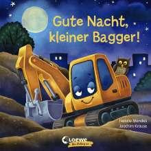 Natalie Mendes: Gute Nacht, kleiner Bagger!, Buch