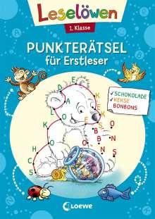 Leselöwen Punkterätsel für Erstleser - 1. Klasse (Blau), Buch