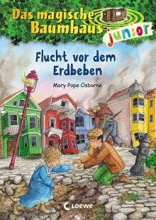 Mary Pope Osborne: Das magische Baumhaus junior (Band 22) - Flucht vor dem Erdbeben, Buch