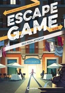 Rémi Prieur: Escape Game Kids - Das Pizza-Attentat, Buch