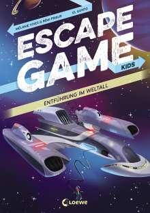 Rémi Prieur: Escape Game Kids - Entführung im Weltall, Buch