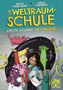 Sonja Kaiblinger: Die Weltraumschule - Erste Stunde: Alienkunde, Buch
