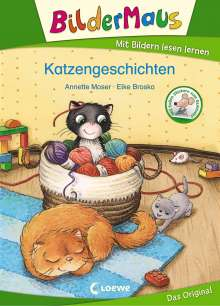 Annette Moser: Bildermaus - Katzengeschichten, Buch