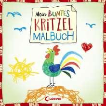 Norbert Pautner: Mein buntes Kritzel-Malbuch (Hahn), Buch
