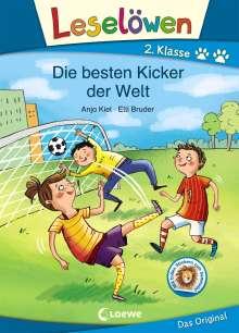 Anja Kiel: Leselöwen 2. Klasse - Die besten Kicker der Welt, Buch