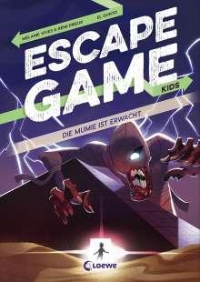 Rémi Prieur: Escape Game Kids - Die Mumie ist erwacht, Buch