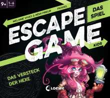 Rémi Prieur: Escape Game Kids - Das Spiel - Das Versteck der Hexe, Diverse