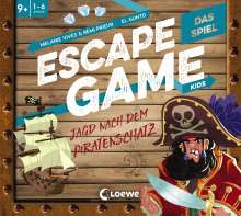 Rémi Prieur: Escape Game Kids - Das Spiel - Jagd nach dem Piratenschatz, Diverse