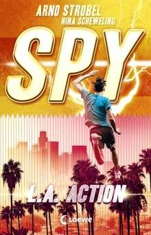 Arno Strobel: SPY - L.A. Action, Buch